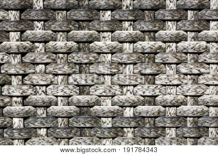 Rattan weave texture background