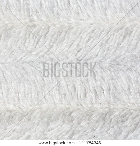 White furry textured background