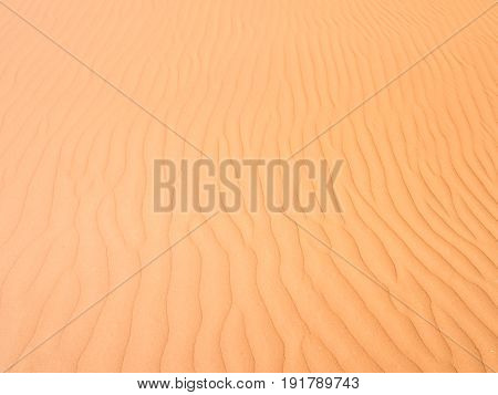 Sand formations on the Namib Desert Namibia. Close up.