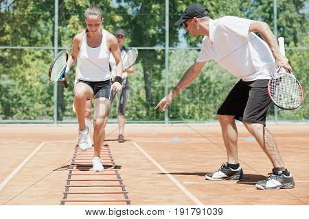 Cardio Tennis Workout
