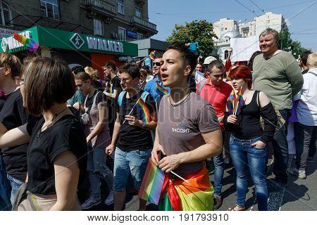 Pride Parade In Kiev