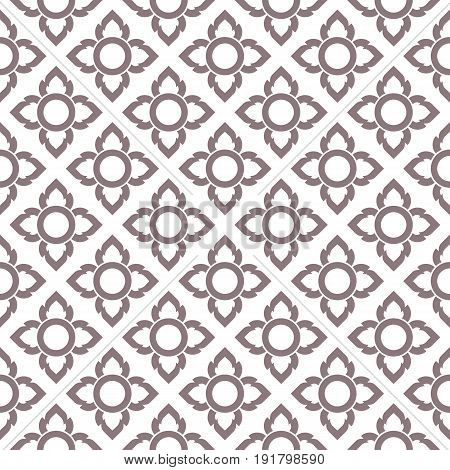seamless pattern, Thailand traditional style, Luxury background