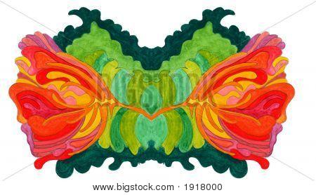 Mirror flower