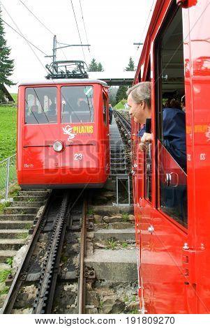 Pilatus Train, The World's Steepest Cogwheel Railway
