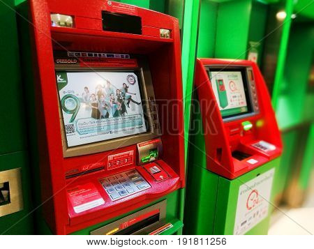 Kasikornbank Atm Machine