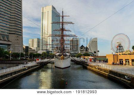 Nippon Maru Sailing Ship, Yokohama