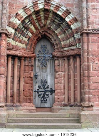 Entry Door At St. Magnus