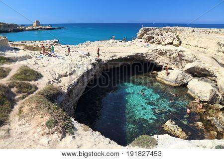 Apulia Cave Swimming
