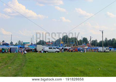 General View On Sorochintsy Fair