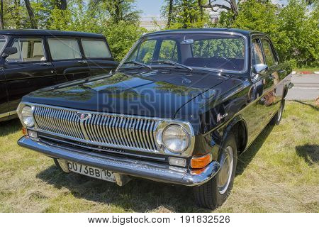 Rostov-on-Don Russia - May 212017: Auto GAZ-24