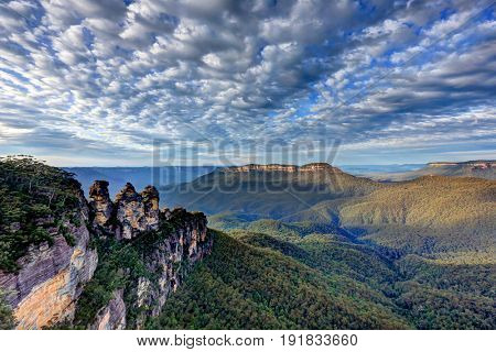 The Three Sisters, Blue Mountains, NSW Australia