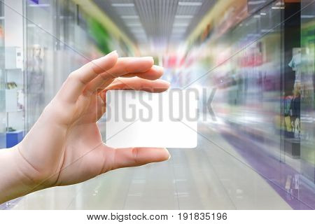 Shopping With Credit Card .