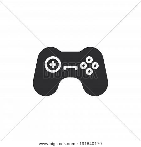 Gamepad icon vector filled flat sign solid pictogram isolated on white. Symbol logo illustration. Pixel perfect