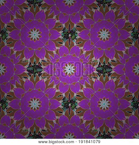 Islam Arabic Indian turkish pakistan chinese ottoman motifs. Oriental pattern. Vintage vector decorative elements. Colored Mandalas on background.
