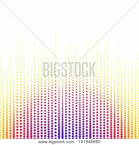 Abstract background point and midtones. White space for text. Vertical lines.