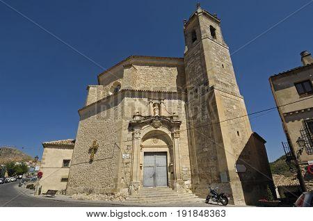 San Pedro church in Cuenca Castilla La Mancha Spain