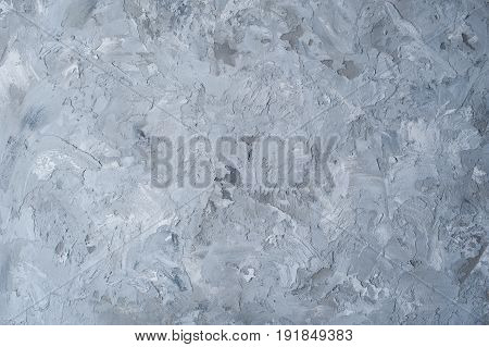 Gray white rough abstract stucco texture for background.