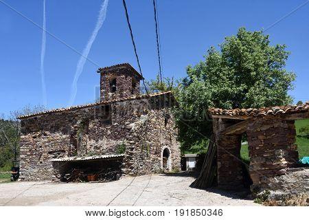 Church Of Nuestra Senora De La Asuncion, Piedrehita, Ribagorza, Huesca, Aragon,spain