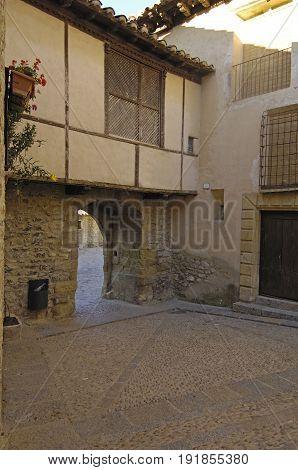 Portal Del Estudio In Miranbel, Maestrazgo, Castellon Province, Valencian Community, Spain