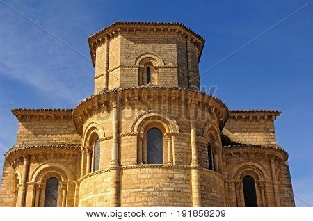 Apse Of The Church San Martin De Tours, Fromista, Palencia, Spain