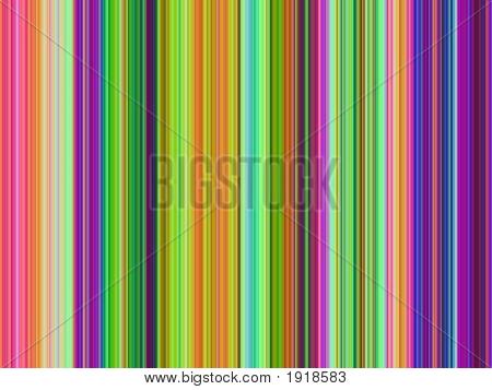 Op Art Multicolor Stripes