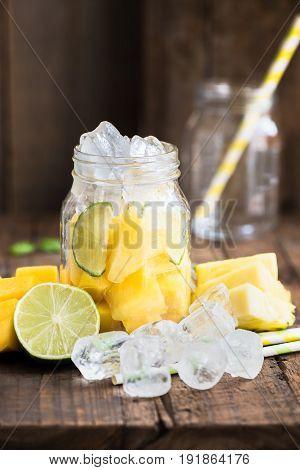 Homemade Fresh Summer Slushy