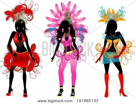 Carnival Silhouettes 3