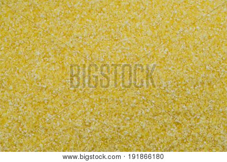 Close Up of Yellow Corn Meal background image
