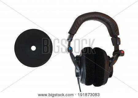 Headphones And Black Cd / Dvd