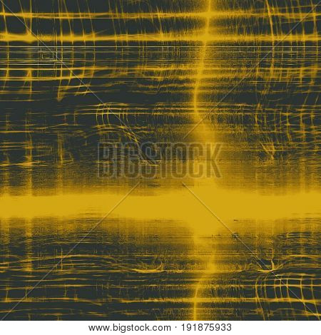 Grunge scratched background, abstract vintage style texture with different color patterns: yellow (beige); brown; gray; black