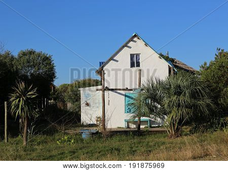Typical House in rural regions in Uruguay