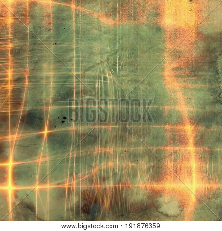 Grunge colorful background or old texture for creative design work. With different color patterns: yellow (beige); green; brown; gray; red (orange); cyan
