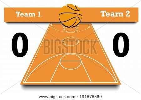 Score Of The Basketball Match