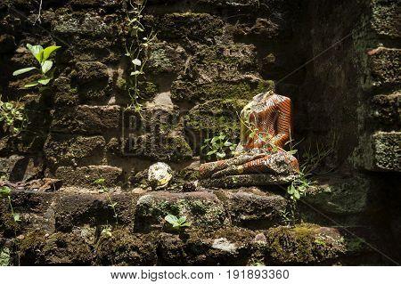 Beheaded Buddha, Anuradhapura, Sri Lanka