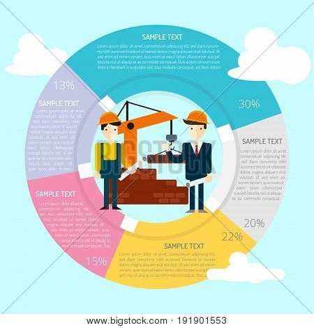 Technical Inspection Infographic | set of vector diagram illustration use for presentation, business, marketing and much more.The set can be used for several purposes like: websites, print templates, presentation templates, and promotional materials.