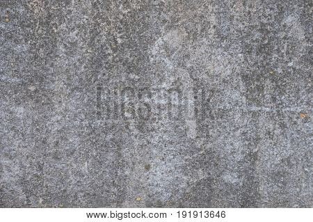 Wall of black color with a ruffled texture for the inscription background