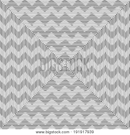 Vector illustration of Chevrons striped pattern background.