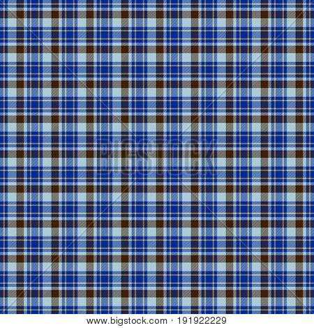 Blue tartan stripped checked fabric background pattern