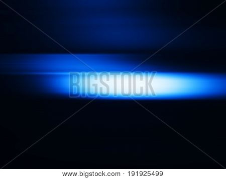 Horizontal blue haste motion blur background hd