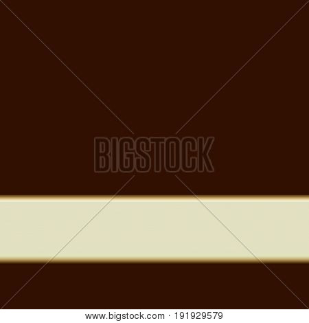 Brown elegant delicate simple empty background with light stripe