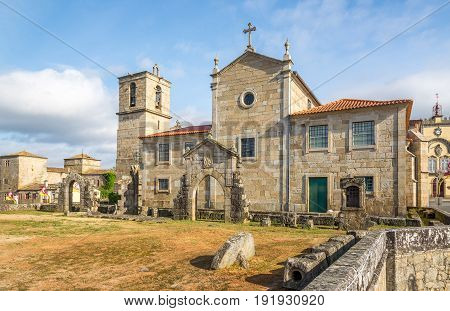 View at the Matriz Church in Barcelos - Portugal