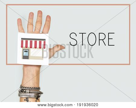 Store commerce customer retail shopping