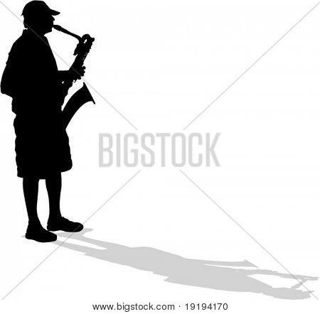 saxaphone player