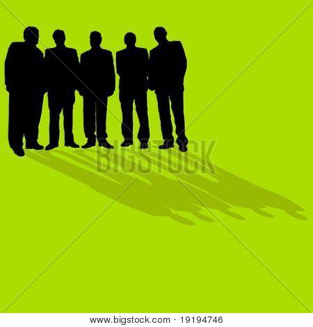 business men standing