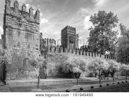 the San Marcos castle in Puerto de Santa Maria Cadiz Spain