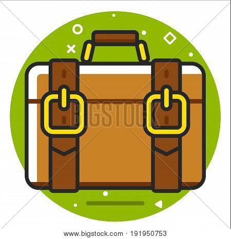 Valise icon design graphic art illustration vector