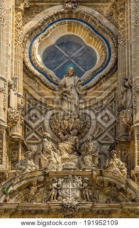 The Cathedral of Jerez de la Frontera Jerez Spain