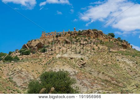 Agrigento Temple Valley Italy Sicily