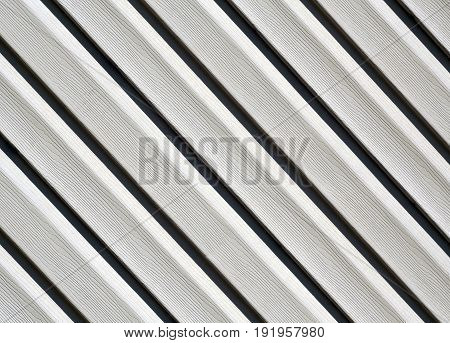 Gray Color Pvc Siding Wall.