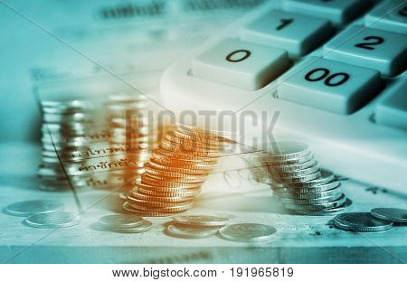 Save Money And Finance For Banking Concept